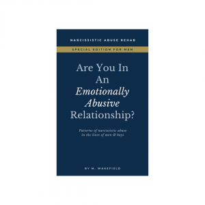Are You In An Emotionally Abusive Relationship: Patterns of Narcissistic Abuse in the Lives of Men and Boys