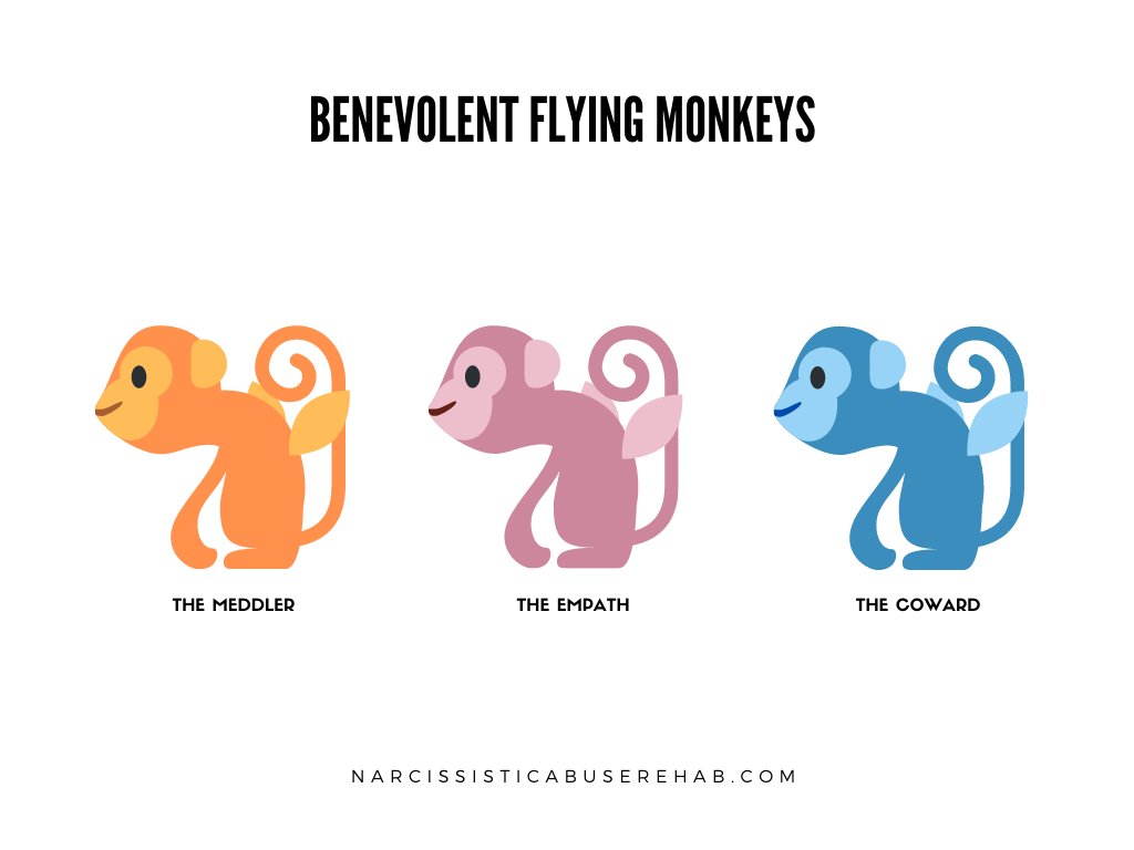 Benevolent Flying Monkeys | Narcissistic Abuse