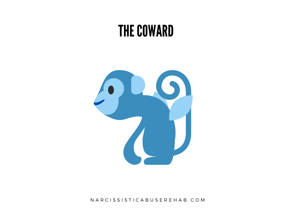 Coward | Flying Monkey | Narcissistic Abuse