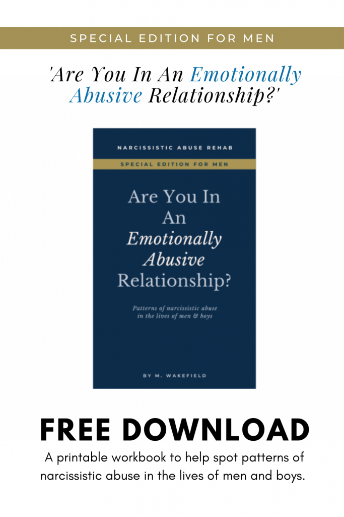 Are You In An Emotionally Abusive Relationship - Special Edition For Men eBook