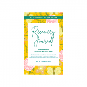 Recovery Journal - Narcissistic Abuse Rehab - Saffron
